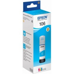 EPSON 106 ECOTANK CYAN FOTO INK
