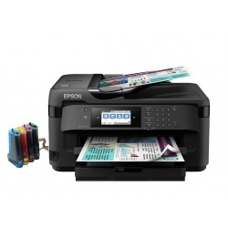 EPSON WORKFORCE WF-7710DWF RESIGILAT cu CISS